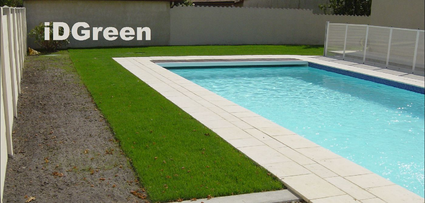 Idgreen la pelouse en rouleau gazon le gazon de qualit livr - Rouleau de gazon synthetique ...